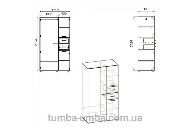 Шкаф-19