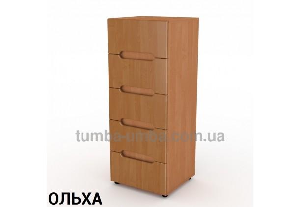 Фото недорогой современный комод 8 МДФ Компанит цвет ольха в интернет-магазине TUMBA-UMBA™ Украина