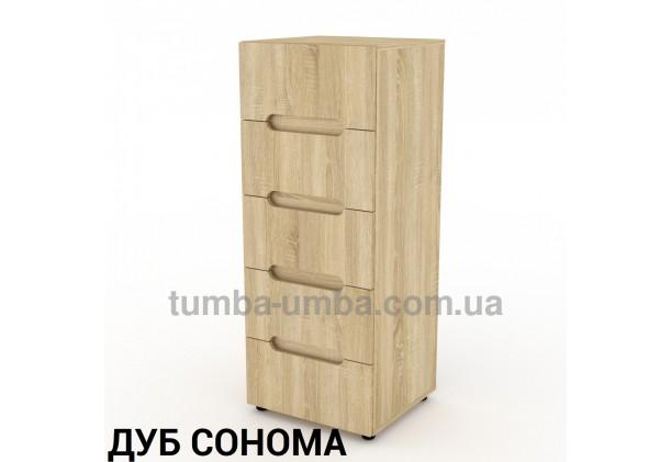 Фото недорогой современный комод 8 ДСП Компанит цвет дуб сонома в интернет-магазине TUMBA-UMBA™ Украина