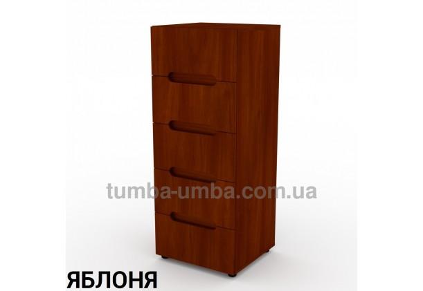 Фото недорогой современный комод 8 ДСП Компанит цвет яблоня в интернет-магазине TUMBA-UMBA™ Украина