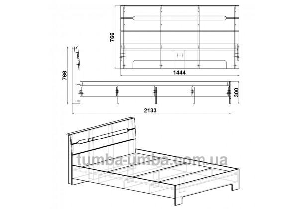 Кровать Стиль-160