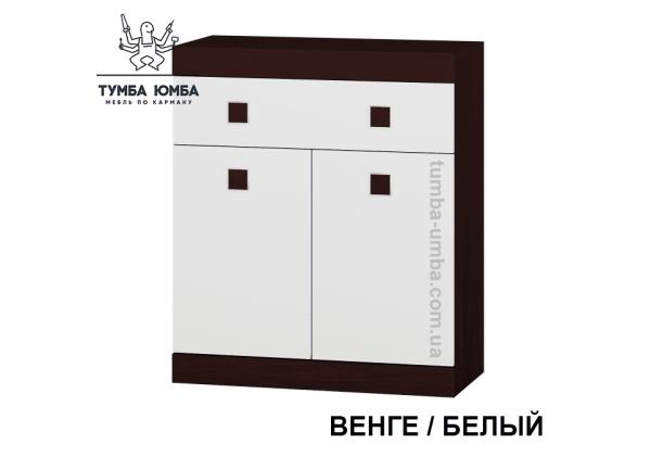 Фото недорогой современный комод Сон-4 цвет венге 1 ящик 2 дверци дешево от производителя с доставкой по всей Украине в интернет-магазине TUMBA-UMBA™