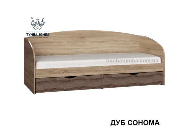 фото односпальная кровать-диван Комфорт-Макс Алекс в цвете дуб сонома дешево от производителя с доставкой по всей Украине