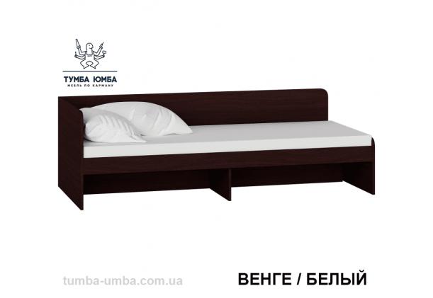 фото односпальная кровать Сон-80 см Алекс без ящиков в цвете венге дешево от производителя с доставкой по всей Украине
