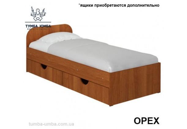 фото односпальная кровать Соня-1 Алекс в цвете орех дешево от производителя с доставкой по всей Украине