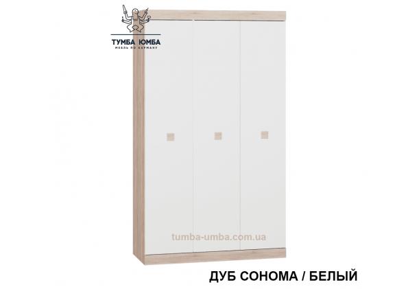 Фото недорогой готовый стандартный Шкаф Сон-1200 ДСП для одежды в цвете дуб сонома дешево от производителя с доставкой по всей Украине