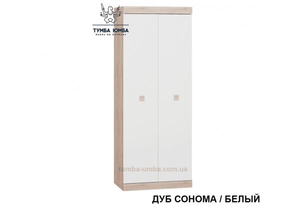 Фото недорогой готовый стандартный Шкаф Сон-800 ДСП для одежды в цвете дуб сонома дешево от производителя с доставкой по всей Украине