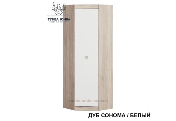 Фото недорогой готовый стандартный угловой Шкаф Сон-шкаф угл-700 ДСП для одежды в цвете дуб сонома дешево от производителя с доставкой по всей Украине