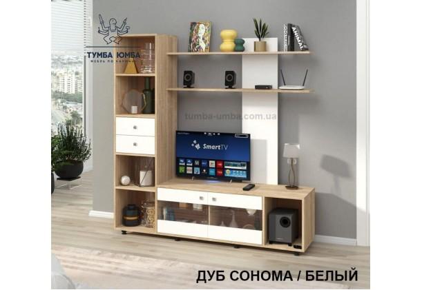 фото недорогая стенка в гостиную Мальта ДСП Алекс в интернет-магазине мебели эконом-класса TUMBA-UMBA™