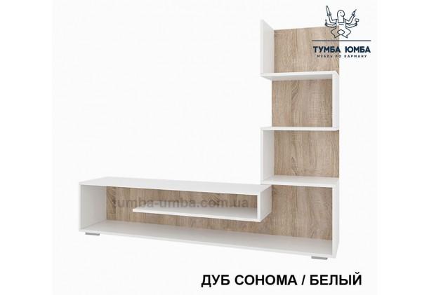 фото недорогая стенка в гостиную Мини-1 ДСП Алекс в интернет-магазине мебели эконом-класса TUMBA-UMBA™