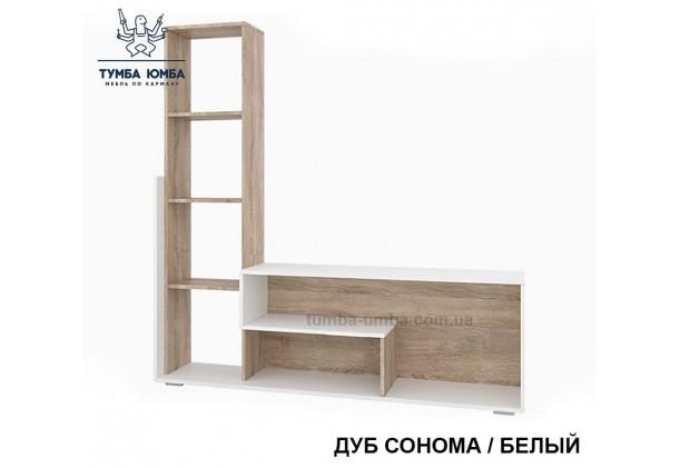 фото недорогая стенка в гостиную Мини-2 ДСП Алекс в интернет-магазине мебели эконом-класса TUMBA-UMBA™