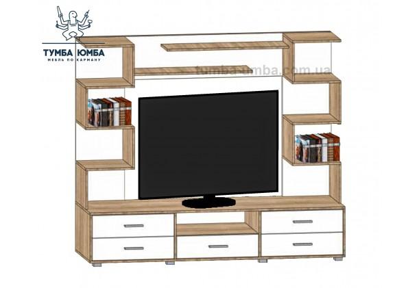 фото недорогая стенка в гостиную Мини-4 ДСП Алекс в интернет-магазине мебели эконом-класса TUMBA-UMBA™