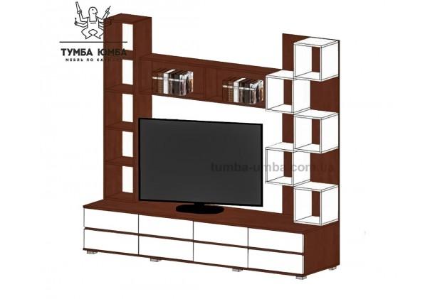 фото недорогая стенка в гостиную Неаполь ДСП Алекс в интернет-магазине мебели эконом-класса TUMBA-UMBA™