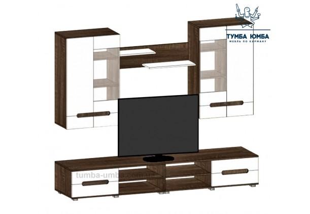 фото недорогая стенка в гостиную Стенка-СМ ДСП Алекс в интернет-магазине мебели эконом-класса TUMBA-UMBA™