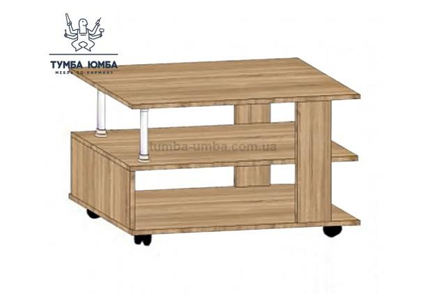 фото недорогой современный журнальный стол СЖ-2 Алекс цвет дуб сонома в интернет-магазине мебели эконом-класса TUMBA-UMBA™