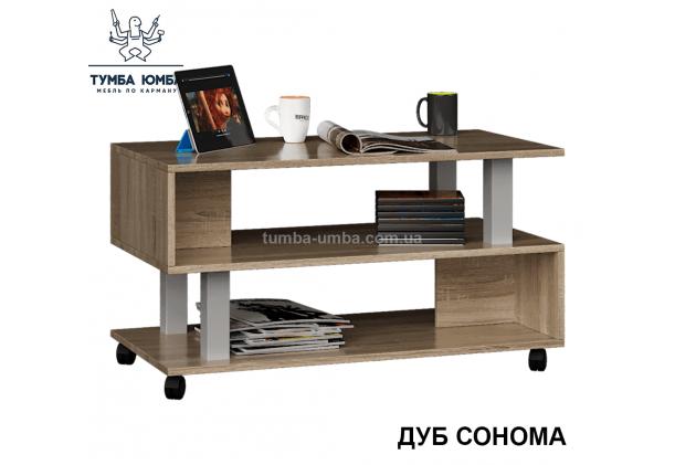 фото недорогой современный журнальный стол СЖ-3 Алекс цвет дуб сонома в интернет-магазине мебели эконом-класса TUMBA-UMBA™