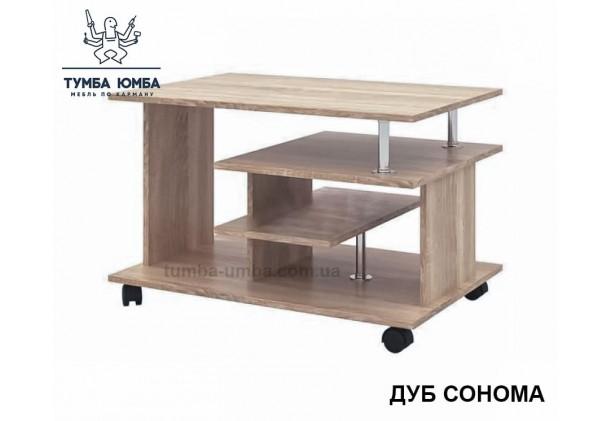 фото недорогой современный журнальный стол СЖ-4 Алекс цвет дуб сонома в интернет-магазине мебели эконом-класса TUMBA-UMBA™