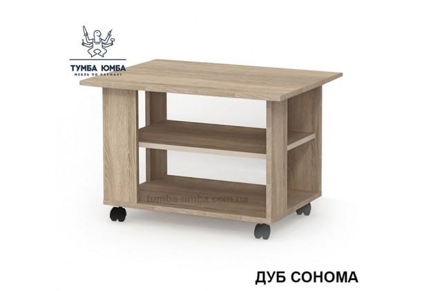 фото недорогой современный журнальный стол СЖ-5 Алекс цвет дуб сонома в интернет-магазине мебели эконом-класса TUMBA-UMBA™