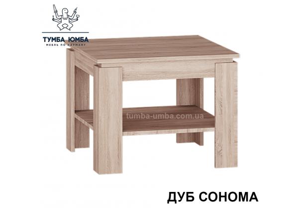 фото недорогой современный журнальный стол СЖ-600 Алекс цвет дуб сонома в интернет-магазине мебели эконом-класса TUMBA-UMBA™