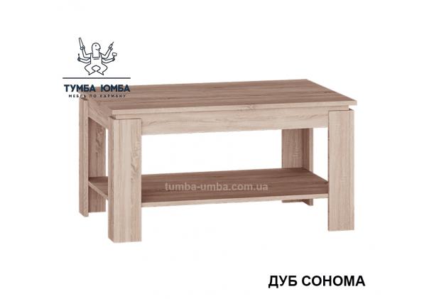 фото недорогой современный журнальный стол СЖ-800 Алекс цвет дуб сонома в интернет-магазине мебели эконом-класса TUMBA-UMBA™