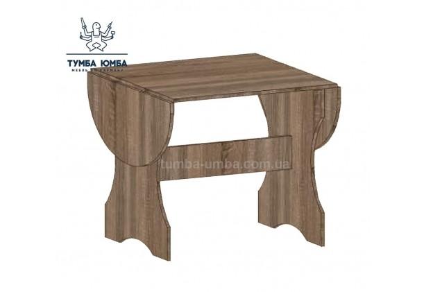 Фото недорогой простой стандартный обеденный стол Бабочка раскладной Алекс для дома дешево от производителя с доставкой по всей Украине
