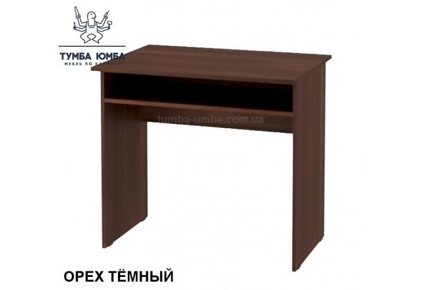 Фото готовый прямой стандартный модульный стол Динамо в офис, для ребенка или для дома в цвете орех тёмный дешево от производителя с доставкой по всей Украине