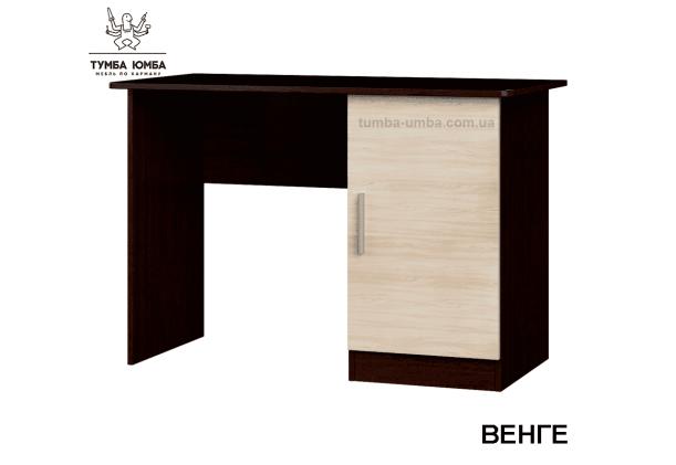 Фото готовый прямой стандартный стол Школьник-5 в офис или домой для ноутбука или ПК в цвете венге дешево от производителя с доставкой по всей Украине
