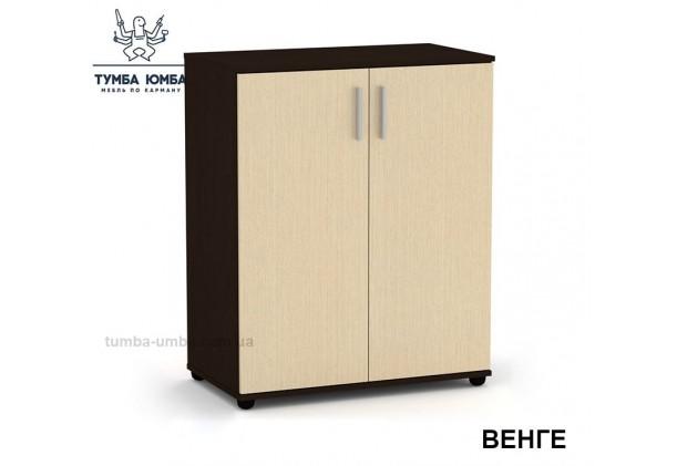 Фото недорогой современный комод- тумба 2Д, ДСП с дверцами Компанит цвет венге в интернет-магазине TUMBA-UMBA™ Украина