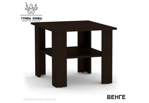 фото недорогой современный журнальный стол Мадрид Компанит цвет венге в интернет-магазине мебели эконом-класса TUMBA-UMBA™
