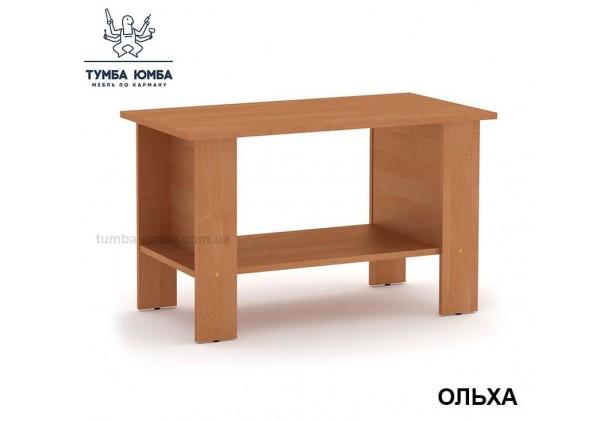 фото недорогой современный журнальный стол Мадрид-3 Компанит цвет Ольха в интернет-магазине мебели эконом-класса TUMBA-UMBA™