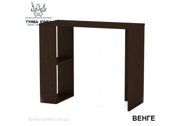 Фото готовый прямой стандартный стол Юниор-2 в офис, для ребенка, для дома или для учителя в цвете венге дешево от производителя с доставкой по всей Украине