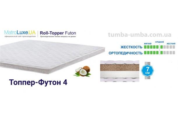 Матрас-Топпер Футон-4