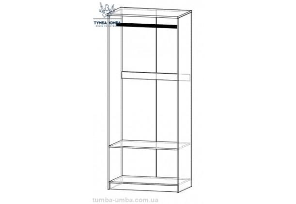 Шкаф одёжный 2Д Даллас МС