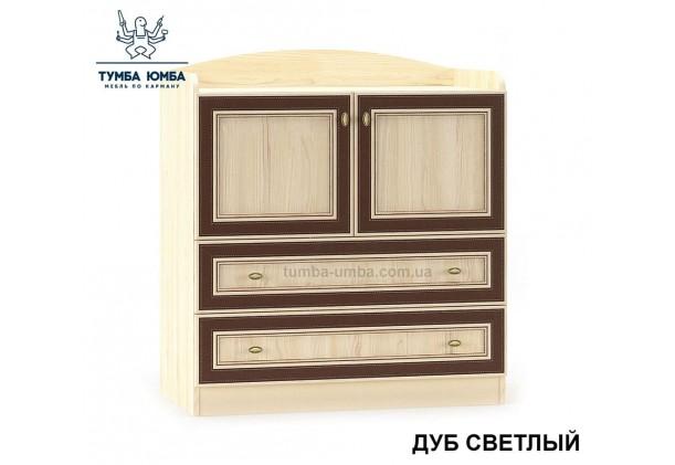 Фото недорогой современный комод Дисней 2Д2Ш ДСП цвет дуб светлый для детской комнаты дешево от производителя с доставкой по всей Украине в интернет-магазине TUMBA-UMBA™