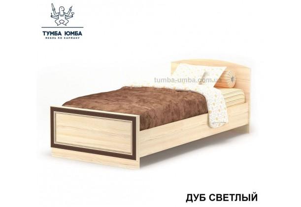 фото односпальная кровать-90 Дисней в цвете дуб светлый дешево от производителя Мебель Сервис с доставкой по всей Украине в интернет-магазине Тумба Юмба.
