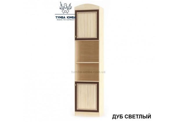 Фото недорогой стандартный мебельный пенал Дисней 2Д ДСП с дверцами для дома и офиса в цвете дуб светлый дешево от производителя с доставкой по всей Украине в интернет-магазине TUMBA-UMBA™