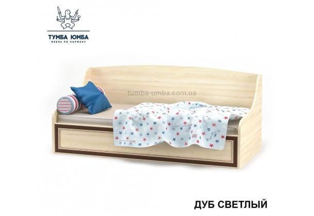 фото односпальная кровать-тапчан Дисней в цвете дуб светлый дешево от производителя Мебель Сервис с доставкой по всей Украине в интернет-магазине Тумба Юмба.