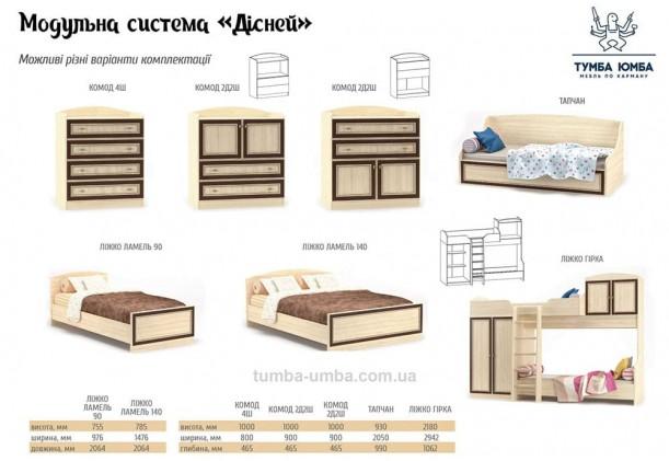Кровать-тапчан Дисней МС