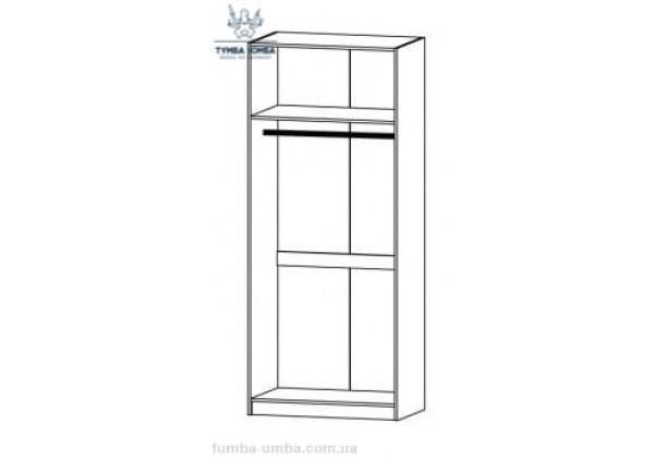 Шкаф одёжный 2Д Фантазия МС