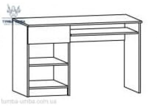 Письменный стол-120 Фантазия МС