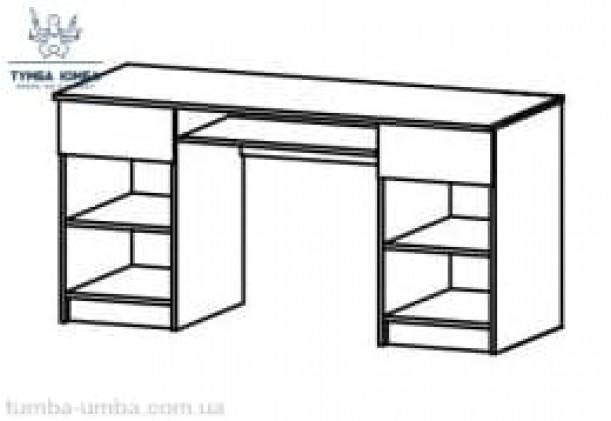 Письменный стол 2Д2Ш Фантазия МС
