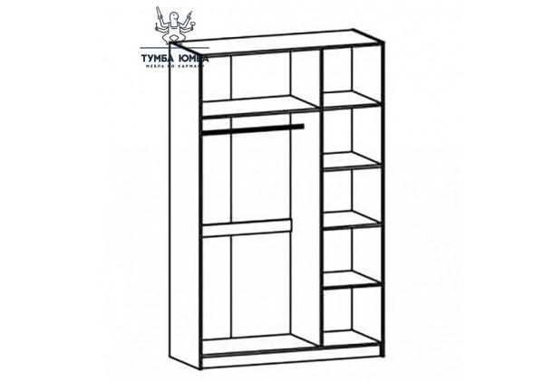 Шкаф одёжный 3Д Фантазия МС