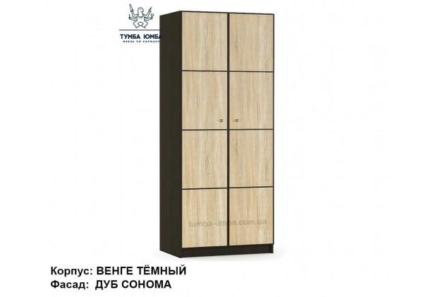 Фото недорогой готовый стандартный платяной Шкаф 2Д Фантазия ДСП для одежды дешево от производителя с доставкой по всей Украине в интернет-магазине TUMBA-UMBA™