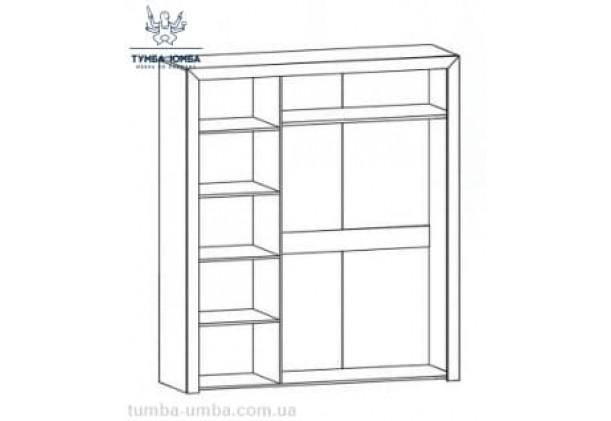 Шкаф одёжный 3Д Флоренс МС