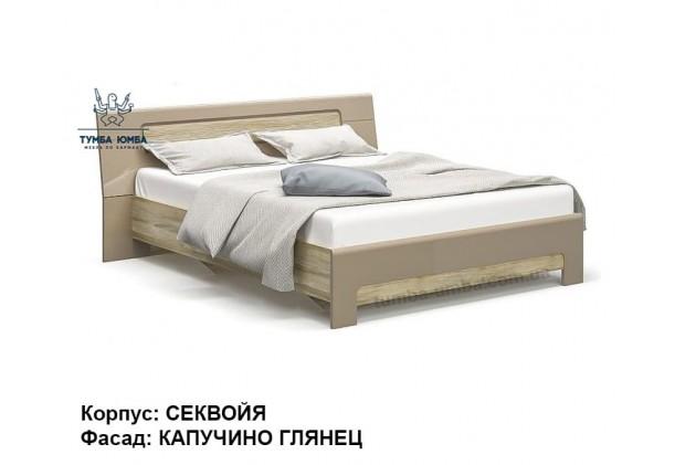 фото стандартная двуспальная кровать Флоренс 160 см в спальню дешево от производителя с доставкой по всей Украине