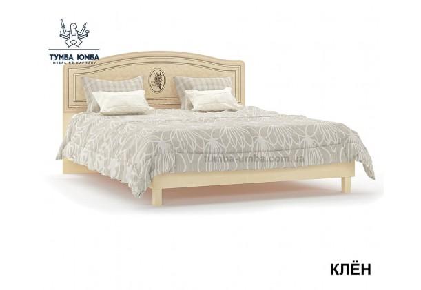 фото стандартная двуспальная кровать Флорис 160 см в спальню дешево от производителя с доставкой по всей Украине