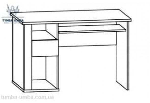 Письменный стол Гресс 1Д1Ш МС