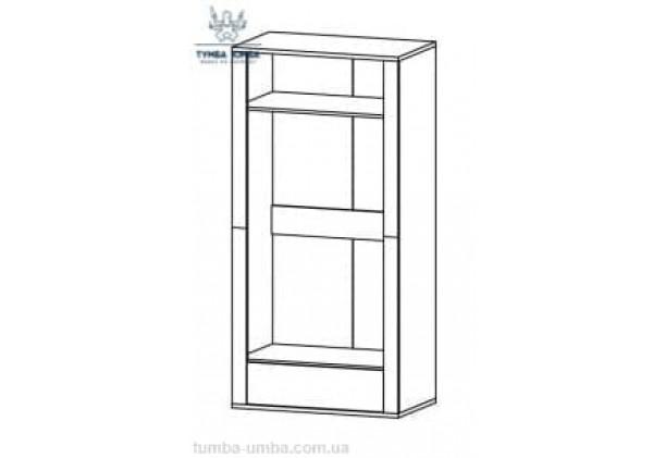 Шкаф одёжный 2Д1Ш Гресс МС