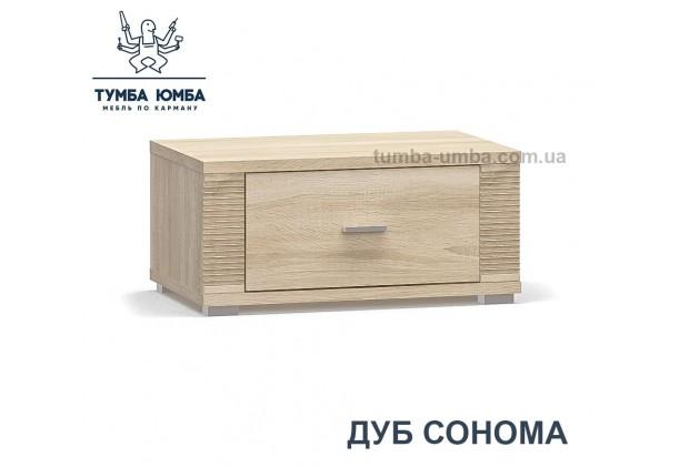 Фото недорогая современная прикроватная тумба Гресс ДСП в цвете дуб сонома дешево от Мебель-Сервис с доставкой по всей Украине в интернет-магазине TUMBA-UMBA™