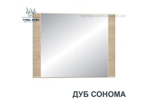 Фото недорогое готовое Зеркало Гресс на стену в зал, прихожую, спальню или офис в цвете дуб сонома дешево от производителя с доставкой по всей Украине